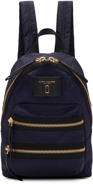 Marc Jacobs mini backpack navy bag