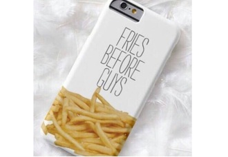 phone cover funny food bag quote on it phone case