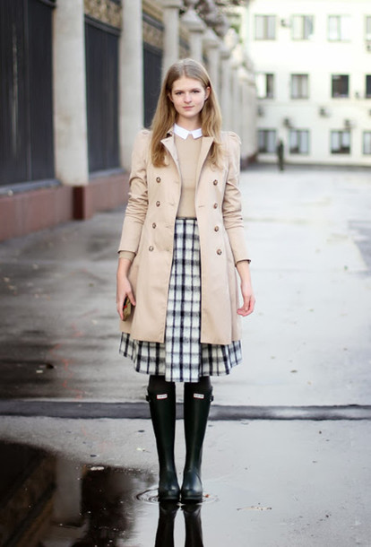 white rabbit dreams sweater coat skirt shoes