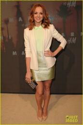skirt,shirt,glee,Emma Pillsbury,Jayma Mays