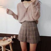 skirt,plaid,classic