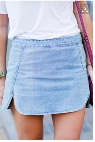 skirt blue jean skirt