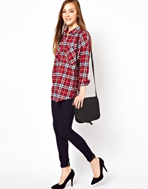 Vila | Vila Check Shirt at ASOS