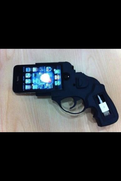 gun jewels ipo iphone iphone charger phone case