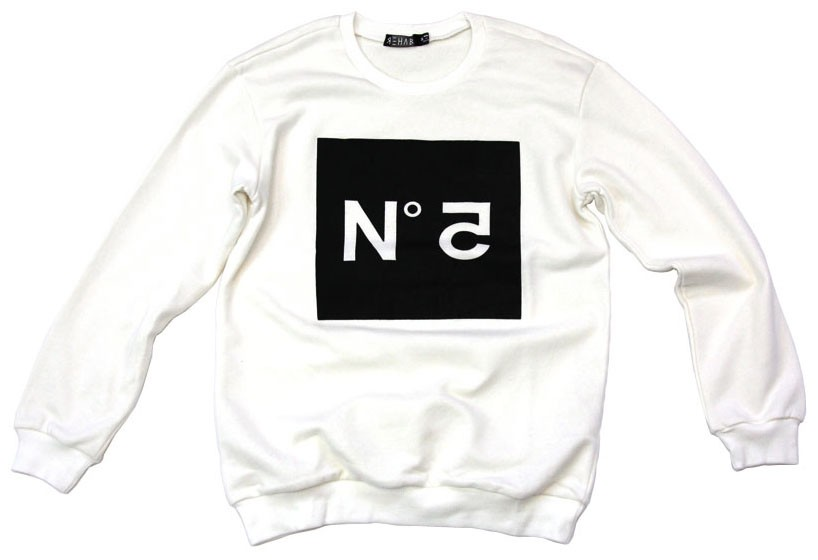 No 5 Sweatshirt - Clothing