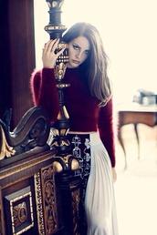 skirt,black and white,burgundy,burgundy sweater,fuzzy sweater,grunge wishlist