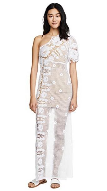 Miguelina dress white
