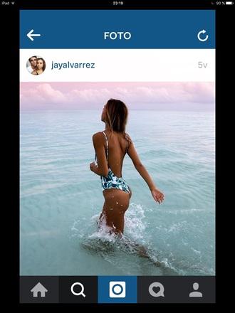 swimwear tropical swimwear alexis ren summer beach one piece swimsuit white