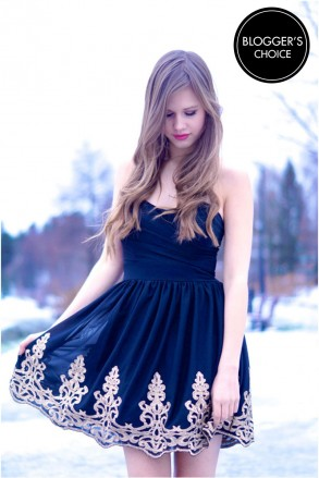 TFNC LILA BANDEAU DRESS   TFNC PROM DRESSES