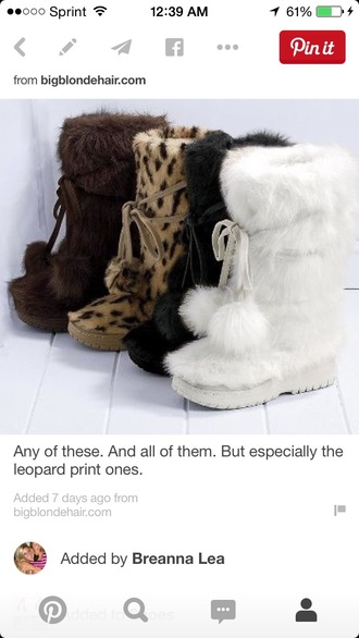 shoes colin stuart boots snow boots fashion furry boots glitter style