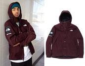 coat,supreme,north face,burgundy,wavy,the north face jacket,menswear,mens jacket,mens windbreaker