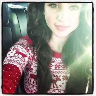 christmas sweater christmas ryan newman sweater
