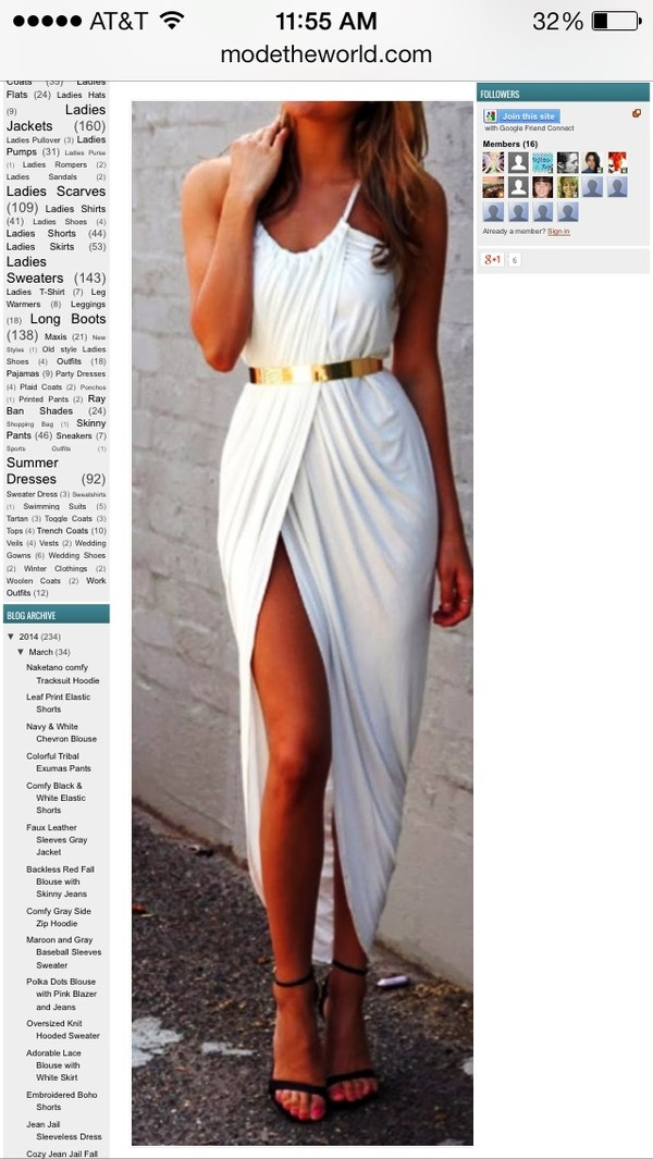 dress black or white gold belt maxi dress