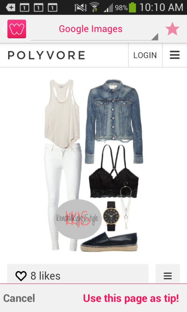outfit style jacket