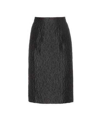 skirt pencil skirt jacquard black