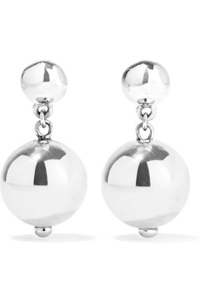 Sophie Buhai - Ball Drop Silver Earrings