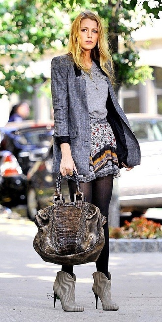 skirt serena van der woodsen leggings shoes gossip girl blake lively