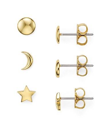 ba977a237 Nadri Star Moon Stud Earrings, Set of 3 Pairs | Bloomingdale's