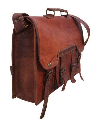 bag brown leather bag leather bag vintage bag leather satchel handbag vintage messenger abg laptop bag