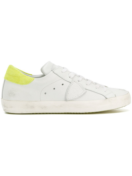 Philippe Model paris women sneakers leather white shoes