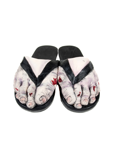 Zombie Feet Adult Sandals