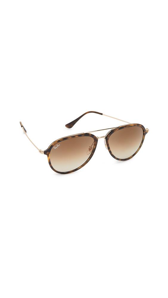 Ray-Ban Aviator Sunglasses in brown