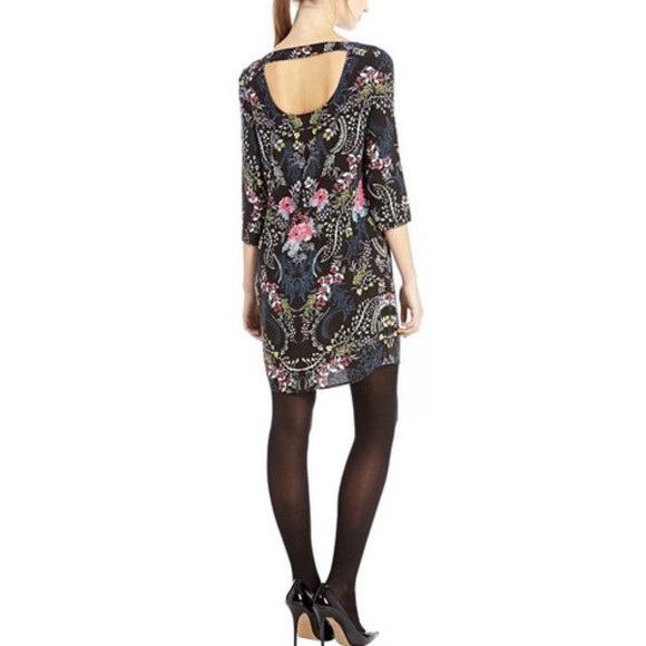 floral dress summer dress tunic chiffon dress