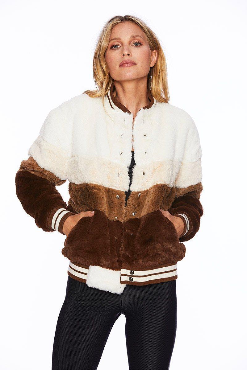 Brown Stripe Jacket