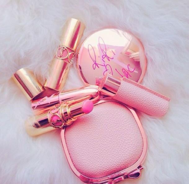 make-up eye makeup ysl pink