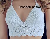 Lovely crop top crochet
