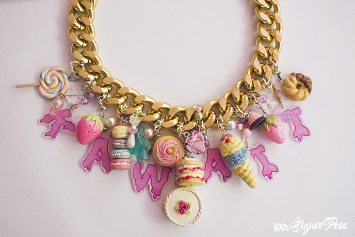 Kawaii statement necklace · 100%sugarfree · online store powered by storenvy