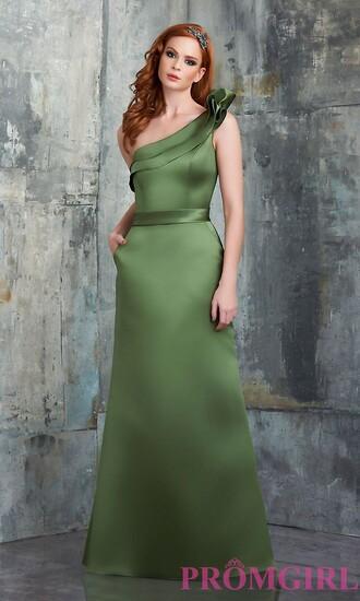 dress prom dress bridesmaid green dress