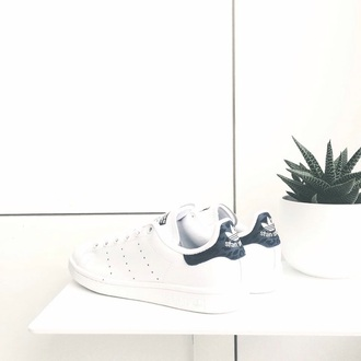 shoes adidas stan smith white blue leopard print