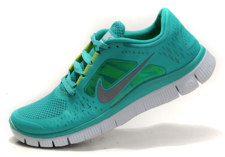 abf27ee9ef30 Turquoise Nike Free Run 3