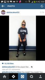 shirt,lil debbie,shorts,set,two-piece,alumn,nike slides,shoes