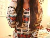 hoodie,aztec,tribal pattern,sweater,casual,printed sweater,fall sweater,jacket,tribal sweater,top,clothes,pink,blue,brown,warm,cute,pattern,shirt,coat,sweatshirt,aztec sweater,grey sweater,blue and red,black design,aztec style,winter outfits,spring,summer,fall outfits,fashion,girly,tomboy,tribal jacket,red shirt,aztec hoodie,blue shirt,white sweater,style,indie hoodie,indie,tribal print hoodie,cute hoodie,bag,indian sweatshirt,blouse,multicolor