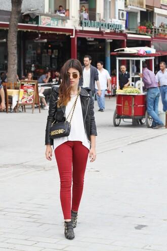 dulceida jacket shirt pants shoes bag sunglasses