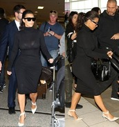 dress,black,little black dress,kim kardashian,shoes