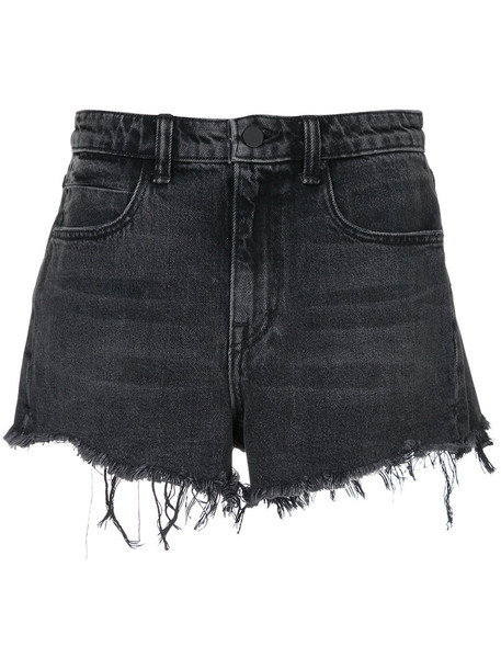 T by Alexander Wang shorts denim shorts denim women cotton grey
