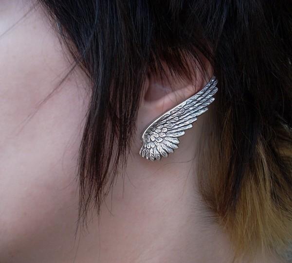 jewels angel wings earrings