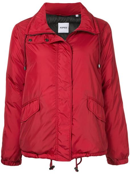 ASPESI jacket women red