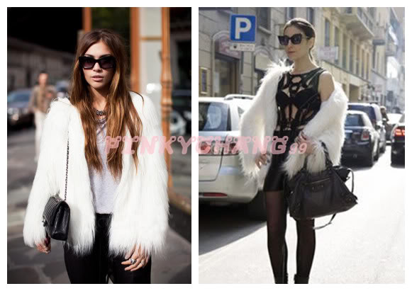 6 Colors Trend Long Hair Faux Fur Coat Jacket s M L XL XXL XXXL | eBay