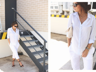 seams for a desire blogger shirt pants shoes bag sunglasses