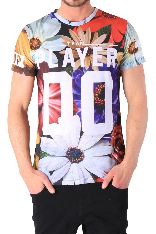 Criminal Damage Unisex T-Shirt SUMMER PLAYER MULTI