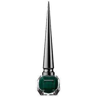 nail polish forest green fall colors louboutin