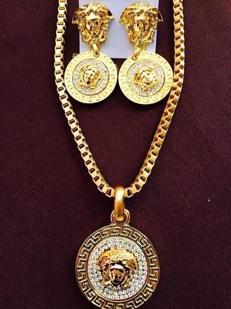 versace dope gold jewelry jewels