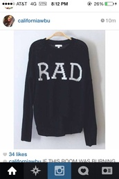 sweater,rad