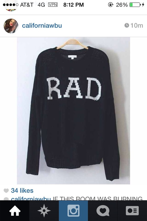 sweater rad