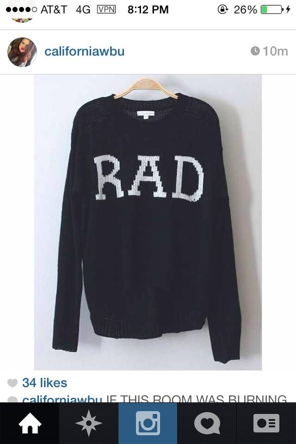sweater rad