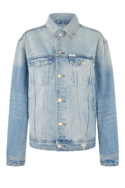 Topshop jeans denim oversized blue